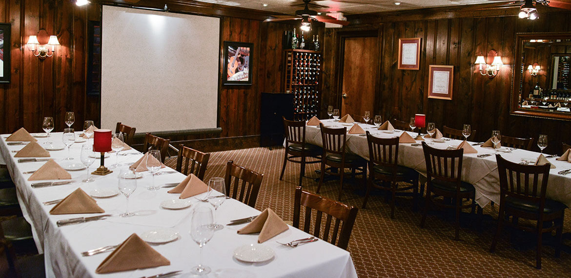 Buckhead's Downtown Private Dining Room